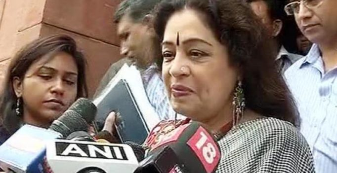 Chandigarh stalking case: Keep boys home at night, not girls, says Kirron Kher