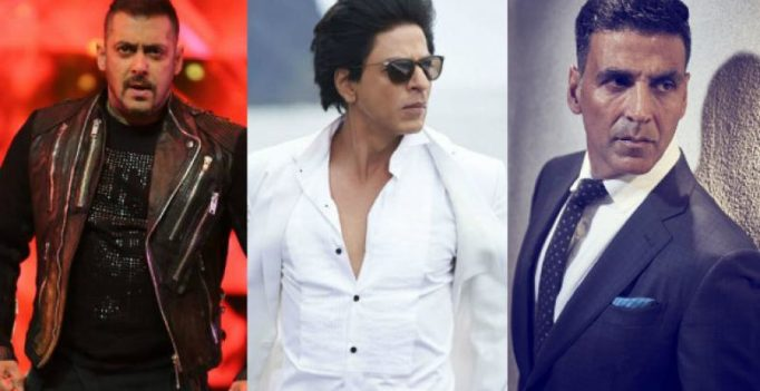 Shah Rukh, Salman, Akshay among world's top 10 highest-paid actors