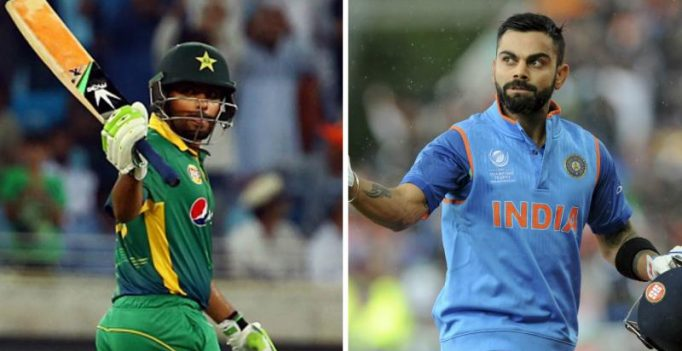 Babar Azam was asked about Virat Kohli comparison and here's his reaction on Twitter