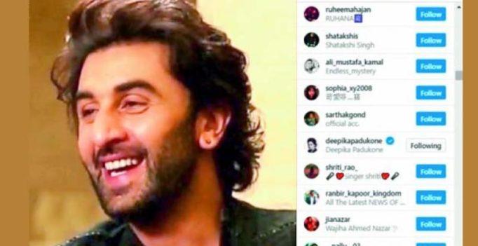 Deepika Padukone 'likes' Ranbir Kapoor again