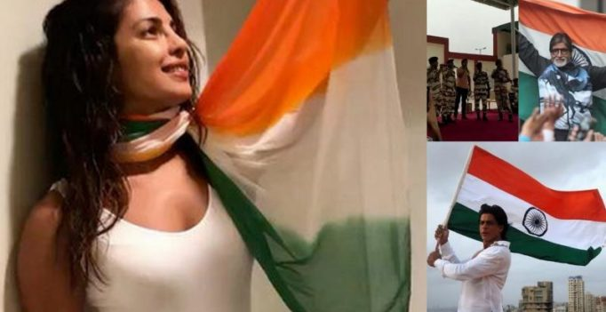 Big B, SRK, PeeCee, Akshay, Aamir and others celebrate I-Day with pride
