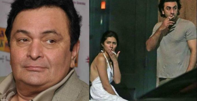 Rishi Kapoor reacts to Ranbir and Mahira's viral pictures from New York