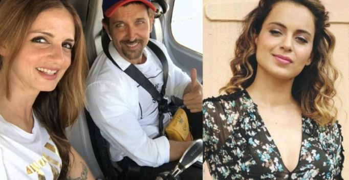 Amid Kangana's attack against Hrithik, Sussanne shares heart-warming post for him