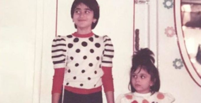 Karisma wishes little sister Kareena on birthday with endearing throwback pic