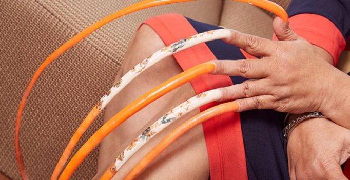 Meet the woman with the world's longest fingernails