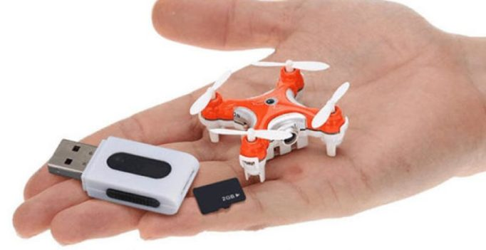 One of the world's smallest camera drone sells for $30