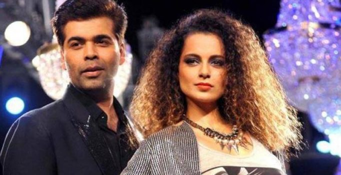 Did Karan Johar just take a brutal, sly dig at Kangana Ranaut on Twitter?