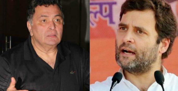 Rishi Kapoor blasts Rahul Gandhi for saying 'Abhishek Bachchan is a dynast'
