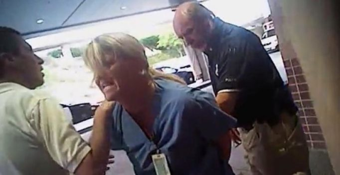 Police assault, arrest Utah nurse for refusing to give patient's blood