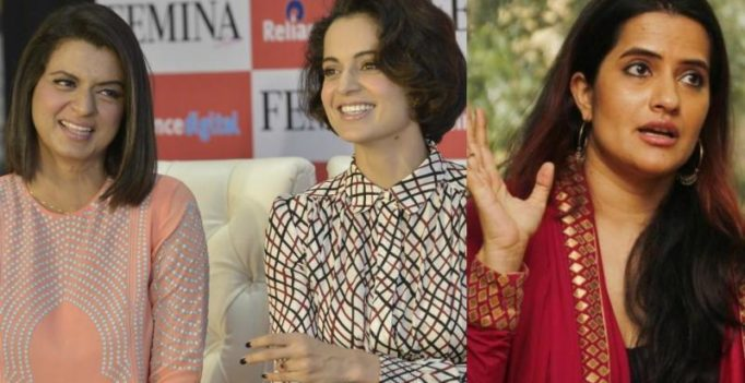 'You are a black spot on womanhood': Kangana's sister slams Sona Mohapatra's letter