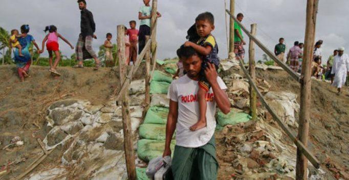 Nearly 400 die as Myanmar army steps up crackdown on Rohingya militants
