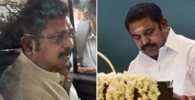 AIADMK power tussle: Dhinakaran dares TN CM Palanisamy to resign