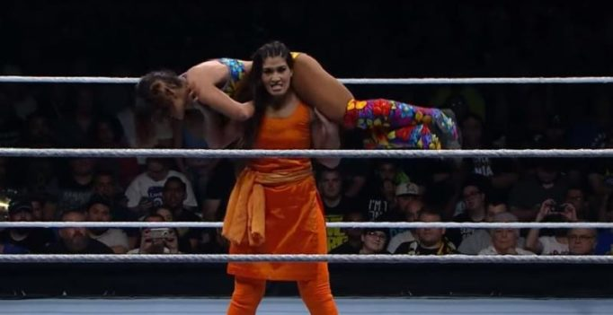 Watch: Indian WWE woman wrestler Kavita Devi steals hearts, gets lauded on Twitter