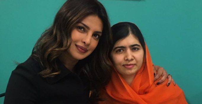 Malala, you're an undeniable force to be reckoned with: Priyanka Chopra