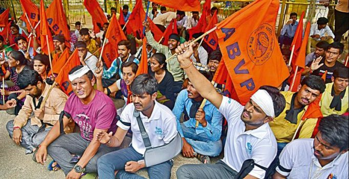 Days after Amit Shah's 'padyatra', ABVP announces 'Chalo Kerala' march