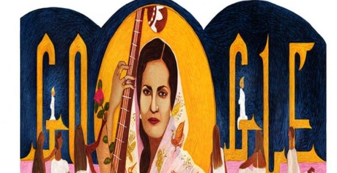 Google pays tribute to Begum Akhtar on 103rd birth anniversary with doodle