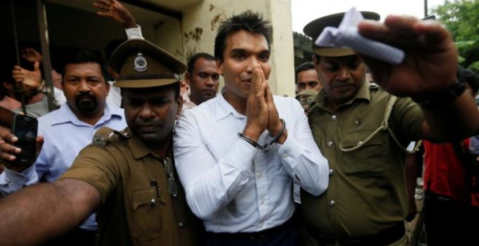Sri Lankan ex-prez Rajapaksa's son arrested for anti-India demonstrations