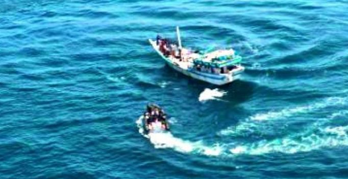 Indian Navy's INS Trishul foils piracy attempt on MV Jag Amar in Gulf of Aden