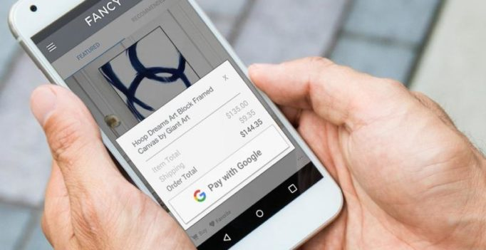 Forget bank details, just 'Pay with Google'