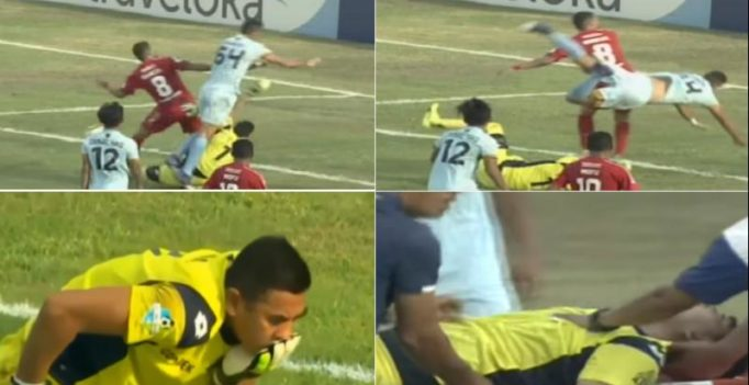 Watch: Persela Lamongan goalkeeper Choirul Huda dies after collision with teammate