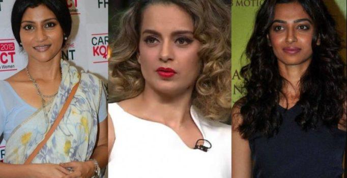 #MeToo: Kangana, Radhika, Konkona, others raise voice against sexual harassment