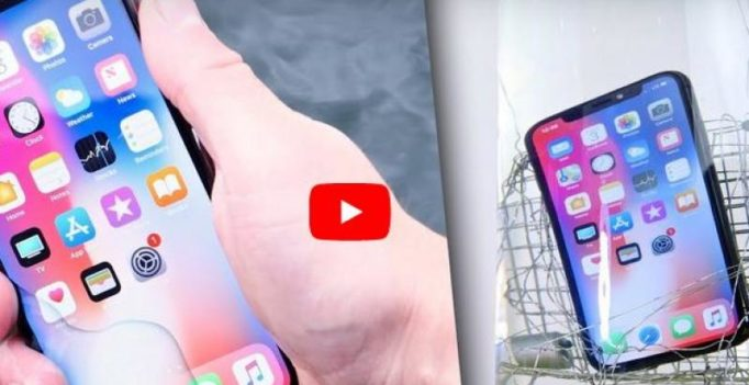 Apple iPhone X in a washing machine: Did it survive?