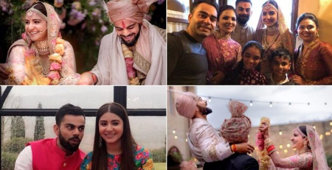See photos and videos: Love takes over as Virat Kohli, Anushka Sharma marry in Italy