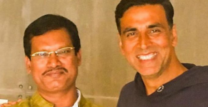 Akshay is world's 1st superstar to talk about menstrual hygiene, says real Padman
