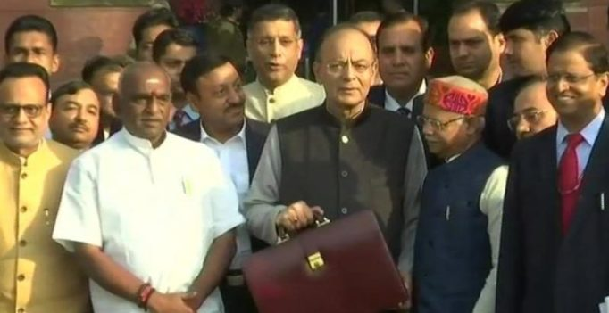 Union Budget 2018 LIVE: Finance Minister Arun Jaitley arrives in Parliament