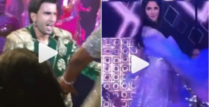 Watch: Ranveer's high energetic, Katrina's dreamy performance will make your day