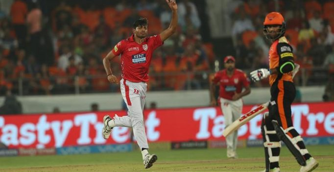 IPL 2018: KXIP's Ankit Rajpoot slammed for abusive send-off to Shikhar Dhawan; video