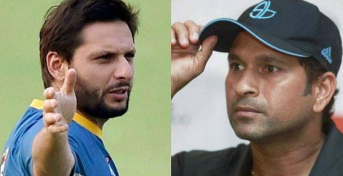 Don't tell us what to do: Sachin Tendulkar slams Shahid Afridi over J&K tweet