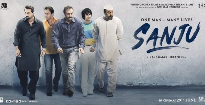 First poster: Ranbir Kapoor as Sanjay Dutt in Sanju will leave you startled