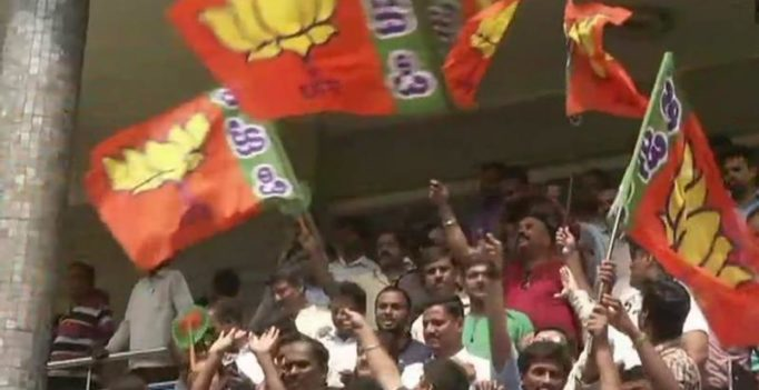 Karnataka election results: BJP crosses 112 majority mark