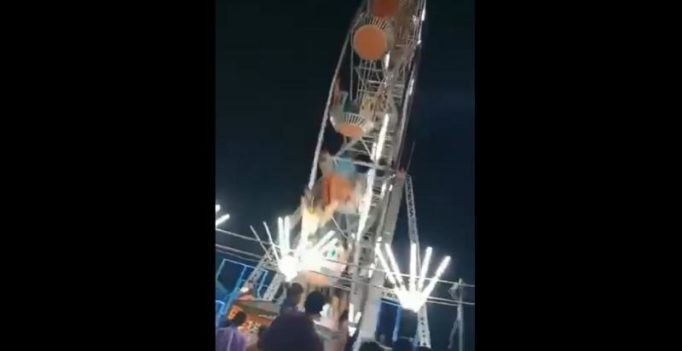 10-yr-old killed, 6 injured as giant wheel crashes at fair in Andhra