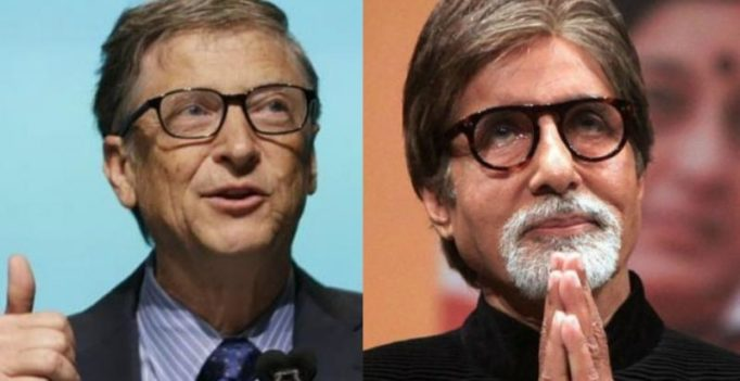 A stirring piece: Bill Gates lauds Amitabh Bachchan on Twitter; here's how he reacted