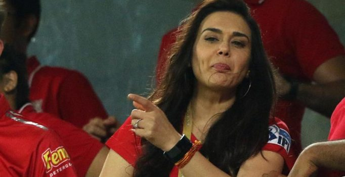 Did KXIP co-owner Preity Zinta take a sly dig at Mumbai Indians? Video goes viral