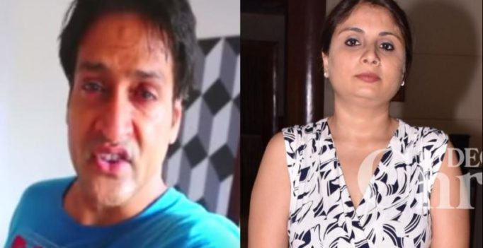 Inder Kumar's 'suicide video' goes viral, wife Pallavi Saraf calls press conference