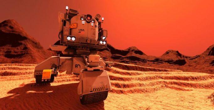 Massive dust storm on Mars threatens Nasa's puny rover