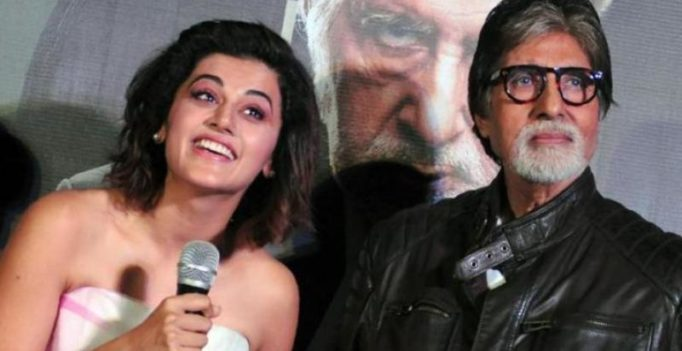 Taapsee Pannu and Amitabh Bachchan sign Sujoy Ghosh's next thriller