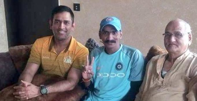 Post IPL win, MS Dhoni hosts Indian cricket fan Sudhir Gautam for lunch; see pics