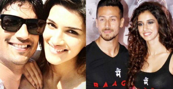 Couples love: Kriti takes out time for Sushant, Tiger concerned for Disha?