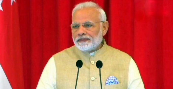 Launch of RuPay, BHIM in Singapore, represents our renewed partnership: Modi