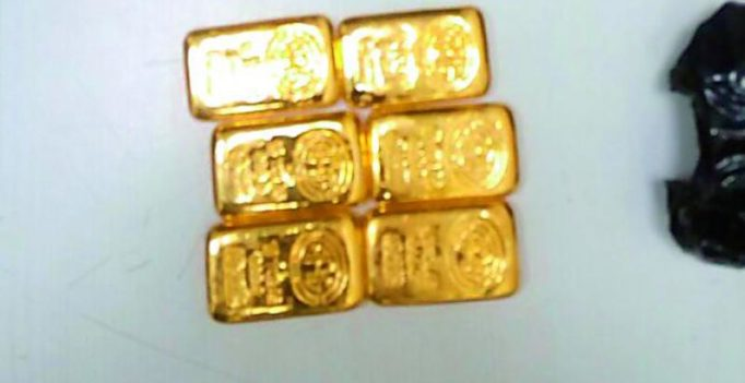 Air passenger held with Rs 44.6 lakh gold at RGI Airport