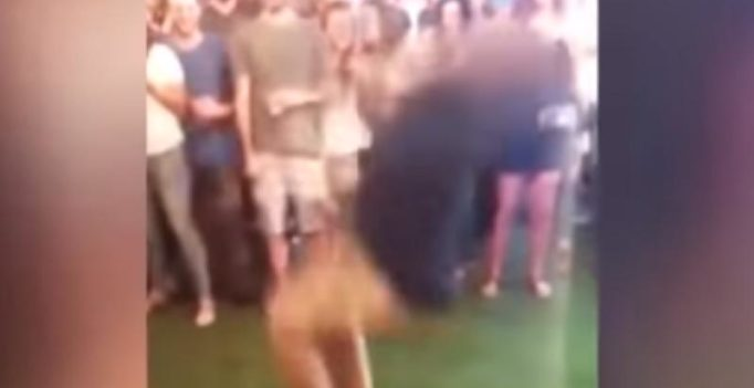 Watch: FBI agent accidentally shoots man during dance floor backflip
