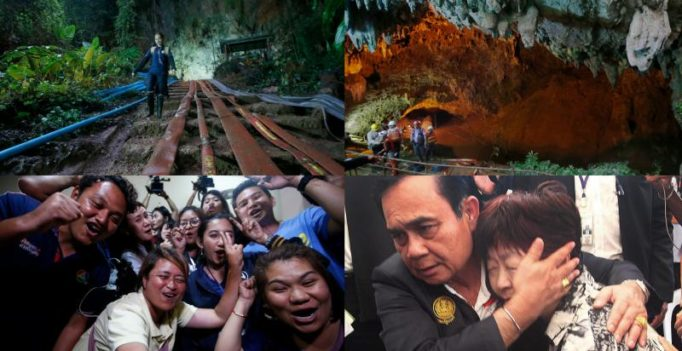 A Thai cave, an extraordinary tale and a captivated world; here's the timeline