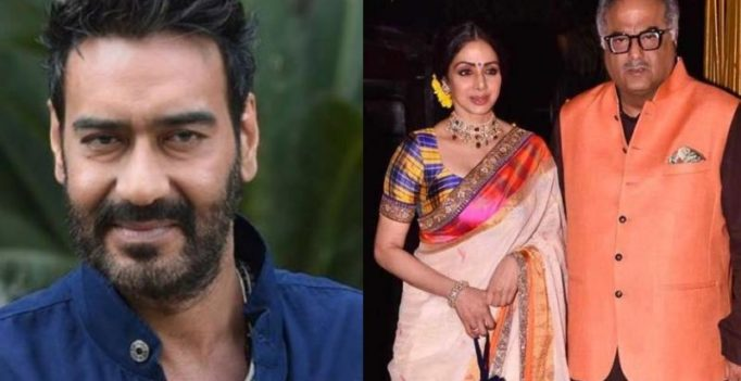 Ajay continues spree, signs Syed Abdul Rahim biopic; Boney's 1st post Sridevi death