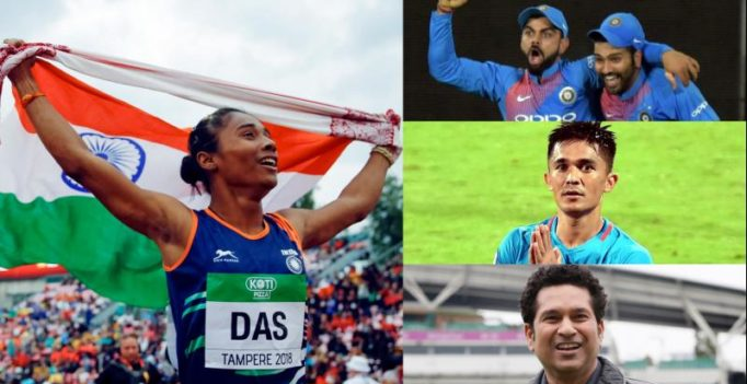 Hima Das' historic gold: Here's how Kohli, Rohit, Tendulkar, Chhetri wished her