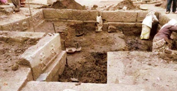 Latest find at Hampi: A Pushkarini