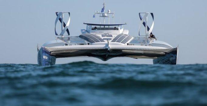 World's first hydrogen-run boat on global trip across all oceans